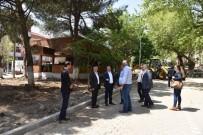 KALDIRIMLAR - Çan Belediyesi, Prestij Caddesini Yeniliyor