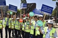 ÇOCUK MECLİSİ - Çocuk Meclisi Üyelerinin Trafik Denetimi