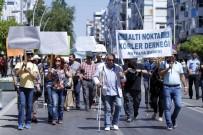 ALTI NOKTA KÖRLER DERNEĞİ - Engellilerden Trafikte Farkındalık Yürüyüşü