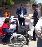 KEREM KINIK - Ergani'de 20 Engelliye Tekerlekli Sandalye Dağıtıldı