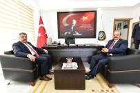 SELAHATTIN GÜRKAN - Gürkan, ESKKK Bölge Birliğini Ziyaret Etti