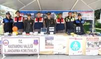 MEDİKAL KURTARMA - Kastamonu'da Trafik Güvenliği Sergisi Açıldı