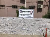 Mardin'de 76 Bin 800 Paket Kaçak Sigara Ele Geçirildi