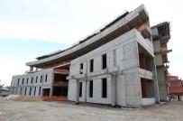 Pamukkale Belediyesi Sağlık Kompleksinin Kaba İnşaatı Tamamlandı