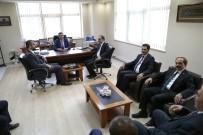 ABDULLAH ÇALIŞKAN - Sanayi Bakanı Danışmanlarından KAYSO Başkanı Büyüksimitci'ye Ziyaret