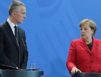 ERKEN UYARI - Stoltenberg ve Merkel'den açıklama! Biz yokuz