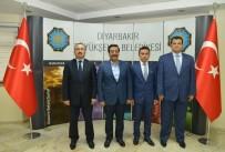 BILAL ÖZKAN - Sur, Yenişehir Ve Kayapınar'dan Başkan Atilla'ya Ziyaret