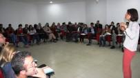 KADINA YÖNELİK ŞİDDETLE MÜCADELE - Van'da 'Kadına Yönelik Şiddetle Mücadele' Eğitimi