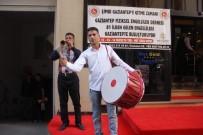 ZEUGMA - 81 İlden Gaziantep'te Gelen Engellilere Davul-Zurnalı Karşılama