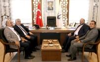 DADAŞKENT - AK Parti İl Başkanı Öz'den Başkan Orhan'a Teşekkür Ziyareti