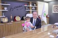 Anaokulu Öğrencilerinden Başkan Şahiner'e Ziyaret