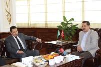 TARıM BAKANı - Bakan Çelik, Suudi Arabistan Büyükelçisi El-Khereji'yi Kabul Etti