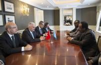 SOMALİ CUMHURBAŞKANI - Başbakan Yıldırım Somali Cumhurbaşkanı İle Görüştü