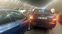 ZİNCİRLEME KAZA - Başkent'te 6 araç hurdaya döndü