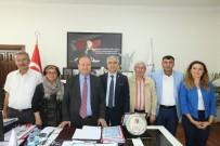 MESUT ÖZAKCAN - CHP İl Başkanı İnci'den Başkan Özakcan'a Teşekkür Plaketi