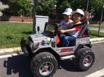 TRAFİK EĞİTİMİ - Dulkadiroğlu Belediyesi'nden Miniklere Trafik Eğitimi