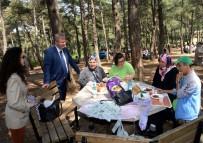 OSMANGAZI BELEDIYESI - Engelliler Piknikte Gönüllerince Eğlendi