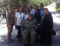 YEMİN TÖRENİ - Engellilerin bir günlük askerlik heyecanı