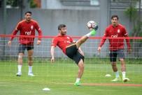 FLORYA - Galatasaray'da Gaziantepspor Mesaisi Sürüyor