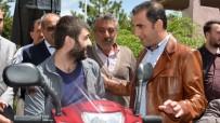ELEKTRİKLİ BİSİKLET - Kaymakam Alibeyoğlu'ndan Engelli Vatandaşa Yardım