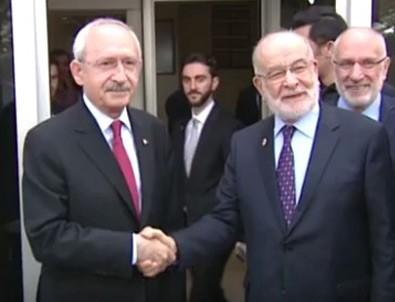 Kemal Kılıçdarğlu Temel Karamollaoğlu ile bir araya geldi