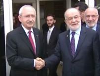 EKMELEDDİN İHSANOĞLU - Kemal Kılıçdarğlu Temel Karamollaoğlu ile bir araya geldi