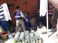 Kırklareli'nde 163 Litre Kaçak İçki Ele Geçirildi
