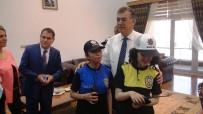 OSMANIYE VALISI - Osmaniye'de Engelli Çocuklar Polis Oldu