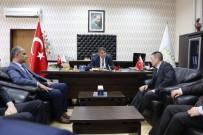 KARABÜK ÜNİVERSİTESİ - Özbekistan Ankara Büyükelçisi'nden KBÜ Rektörü Polat'a Ziyaret