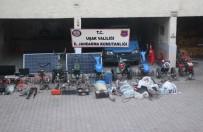 Uşak'ta Köylerde Hırsızlık Yapan 3 Kişi Yakalandı
