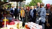ZÜLKIF DAĞLı - Vali Dağlı Ve Başkan Keleş Festival Alındaki Stantları Gezdi