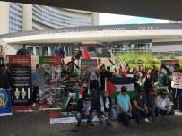 EMIN AVCı - Viyana'da Filistinli Tutuklulara Destek Gösterisi