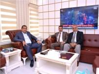 CEYLANPINAR - Yaşama Dokunanlar Platformundan Başkan Atilla'ya Ziyaret