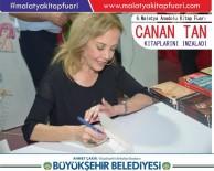 CANAN TAN - 6.Malatya Anadolu Kitap Fuarı Sürüyor