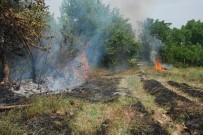 İLK MÜDAHALE - Bahçeler Arasında Orman Yangını