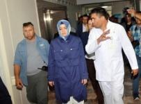 AMIR ÇIÇEK - Bakan Kaya, Muğla'daki Kazada Yaralananları Hastanede Ziyaret Etti