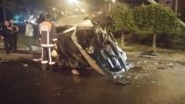 TRAFİK ÖNLEMİ - Başkentte Zincirleme Trafik Kazası Açıklaması 2 Yaralı