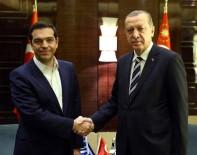 YUNANİSTAN BAŞBAKANI - Cumhurbaşkanı Erdoğan, Yunanistan Başbakanı Çipras'ı Kabul Etti