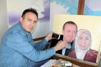 DİZİ OYUNCUSU - Cumhurbaşkanı İle Annesinin O Fotoğrafını Resmetti