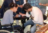 ALZHEIMER - Denizli'de 300 Engelli Vatandaşa 'Sevgi İzi' Yapıldı