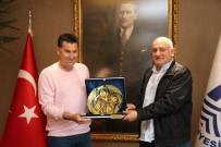 GÖRSEL İLETIŞIM - Dumlupınar Üniversitesinden Başkan Kocadon'a Teşekkür Ziyareti