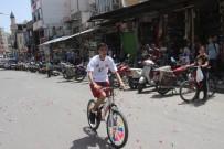 Gaza Basma Pedala Bas' Bisiklet Yarışı Düzenlendi