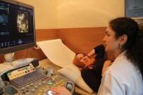 ANNE ADAYLARI - (ÖZEL) Türkiye'de İlk Kez  Görme Engelli Kadın Doğmamış Bebeğine Dokundu