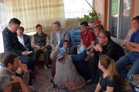 TAZİYE ZİYARETİ - Şehit astsubay Çavuş Niyazi Elçin'in acı haberi ailesine ulaştı