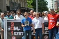 İSMET İNÖNÜ - Soma'da Hayatını Kaybeden Maden İşçileri Eskişehir'de Anıldı