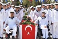 GARNIZON KOMUTANLıĞı - Temsili Askerlik Yapan Engelli Gençler Terhis Belgelerini Aldı