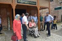 BENNUR KARABURUN - Valide-İ Ali Osman Hayme Ana'nın İzinde Projesi'nde Bursa'dan Yola Çıkan Grup Bilecik'e Geldi