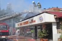 BALABAN - Bacadan Çıkan Yangın Ekmek Fırınını Kül Etti