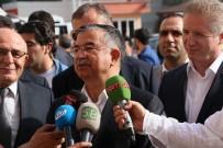 SİVAS VALİSİ - Bakan Yılmaz Sivasspor Maçı İçin Adana'ya Geldi