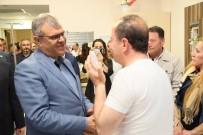 Başbakan Yardımcısı Kaynak'tan Saldırıya Uğrayan Belediye Başkanına Ziyaret